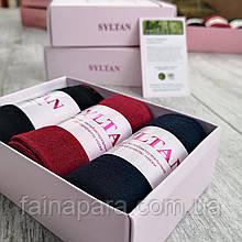 Женские носки в подарочной упаковке 3 пары