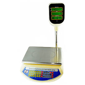 Торговые Весы Promotec PM-5052 со стойкой 23 х 33 см + ПОДАРОК D1001  (S00184)