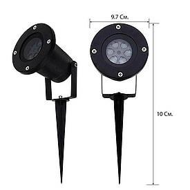 Лазерный проектор  Star Shover СНЕГ Snowflake  № ZP3  (S00249)