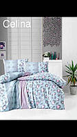 Подарочный комплект постельного белья Altinbasak Celina Евро производство Турция