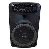 Портативная Акустическая колонка с Bluetooth ZX-7766 150Вт  (S00351)
