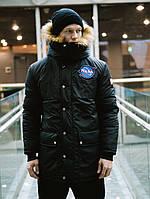 😜 Парка - Мужская очень теплая куртка NASA