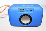Колонка T&G TG506 Bluetooth Blue, фото 3
