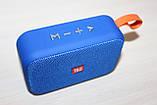 Колонка T&G TG506 Bluetooth Blue, фото 2