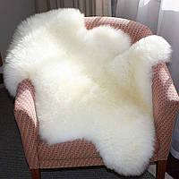 Шкура овечья декоративная цвет белый