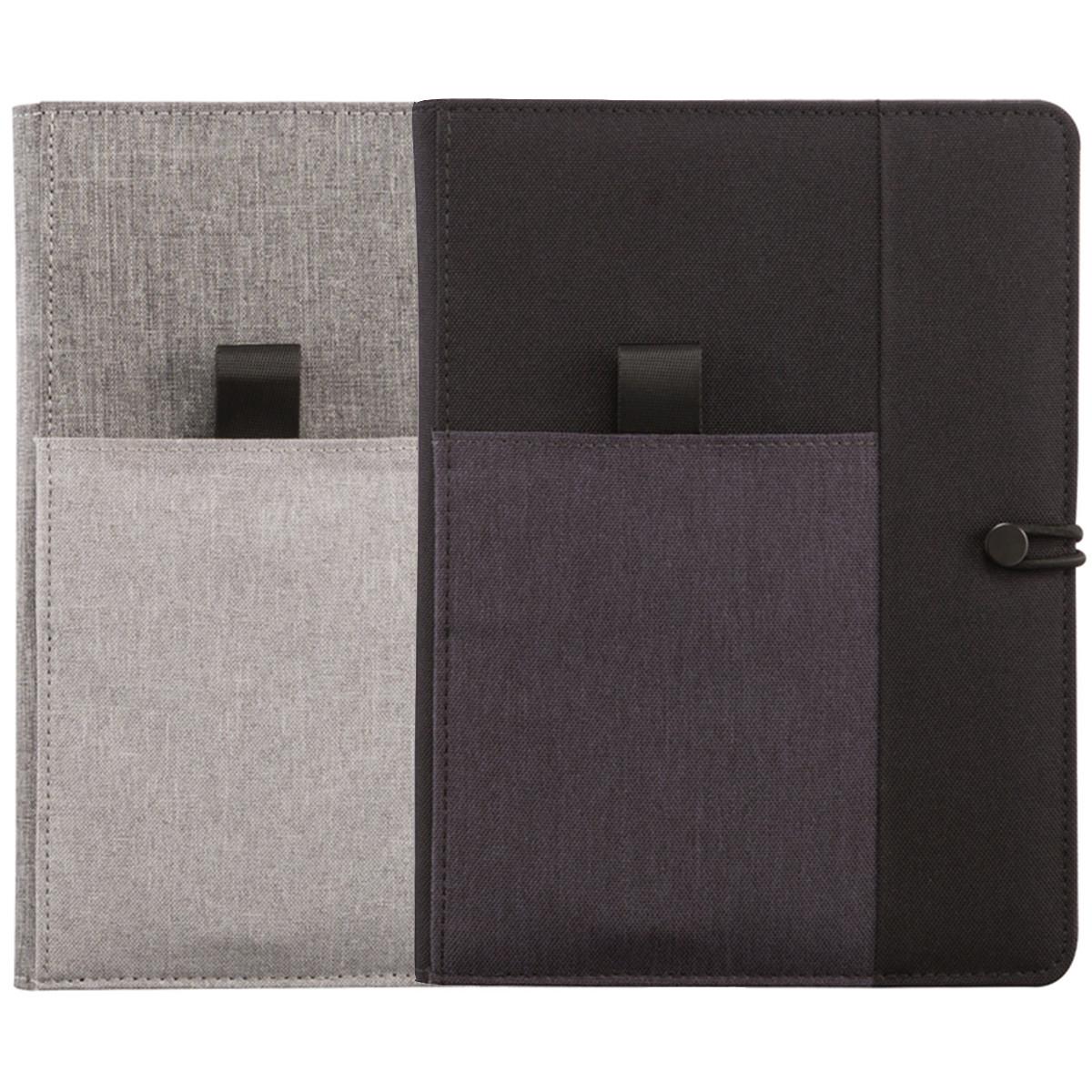 Органайзер-блокнот Kyoto с отделением под телефон, ручку и другие аксессуары (2 цвета на выбор)