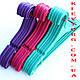 Вешалки плечики для верхней одежды пластиковые разноцветные, фото 2