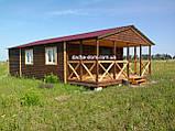 Дачні,каркасні,садові будиночки!Кращі ціни!Повний цикл обробки!, фото 8