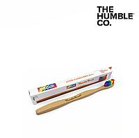 Бамбуковая зубная щетка The Humble Co (Радуга), мягкая