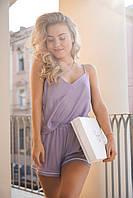 Пижама женская, шорты и майка