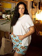Пижама шорты с футболкой Песик Николай XL, фото 1