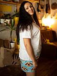 Пижама шорты с футболкой Песик Николай XL, фото 4