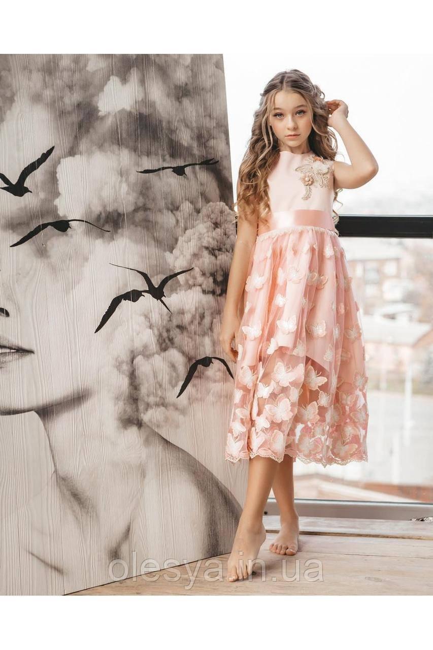 Платье нарядное детское  TM Barbarris Размеры 122-152
