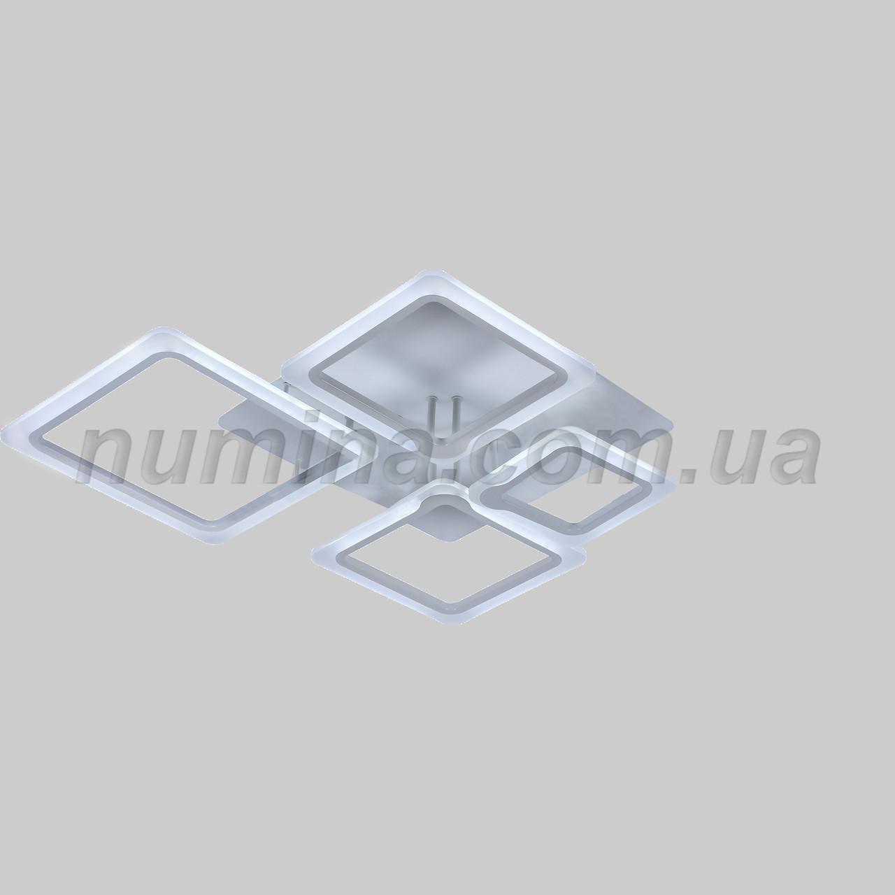 Люстра потолочная LED 20-LI8850/4B 126W WH