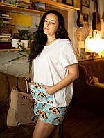 Пижама шорты с футболкой Песик Николай М, фото 1