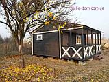 Дачні,садові,каркасні будиночки!Нові матеріали!У два рази НАДІЙНІШЕ!, фото 4