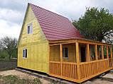 Дачні,садові,каркасні будиночки!Нові матеріали!У два рази НАДІЙНІШЕ!, фото 9