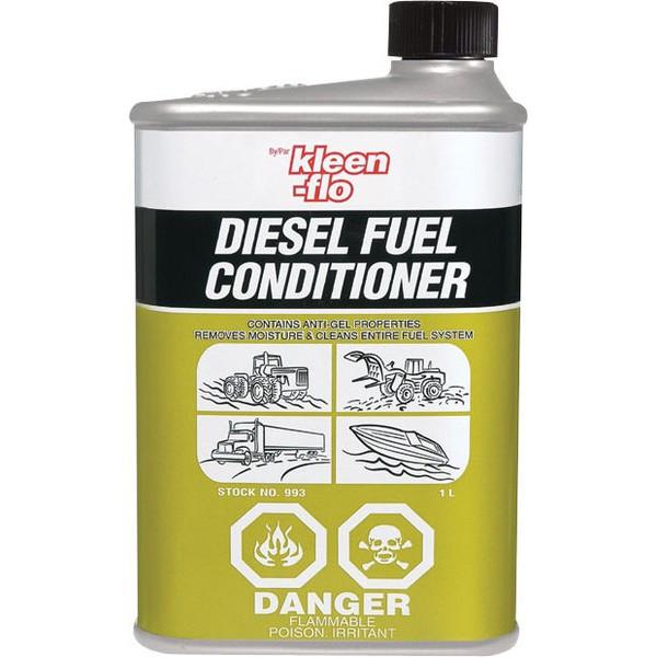 Kleen-Flo Diesel Fuel Conditioner присадка (антигель) для дизельного топлива (1л)