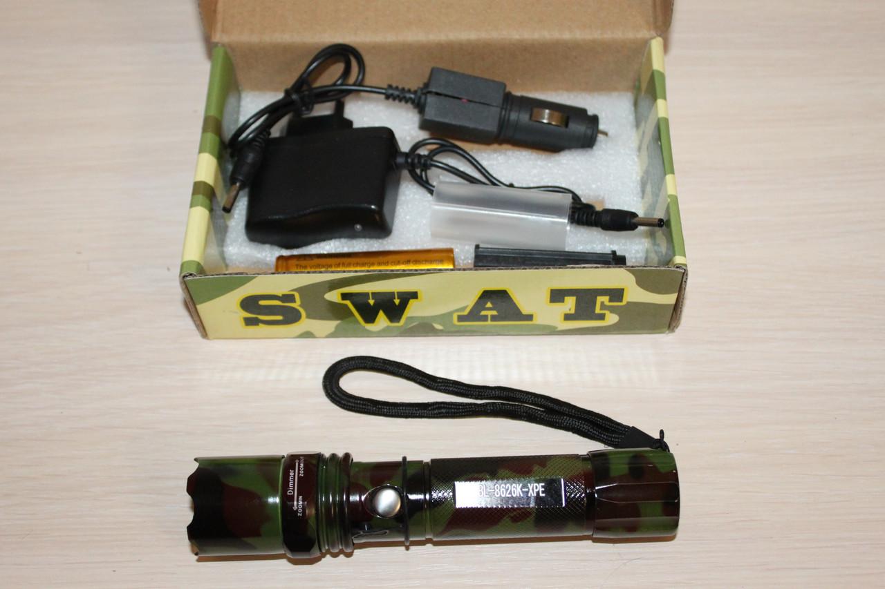 Фонарик Police BL-8626K Камуфляжный