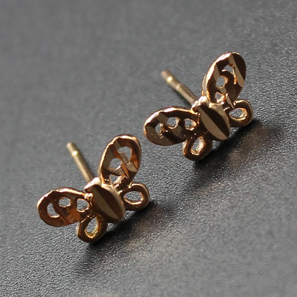 "Серьги женские ""Bifrenaria"" Xuping Jewelry (позолота)."