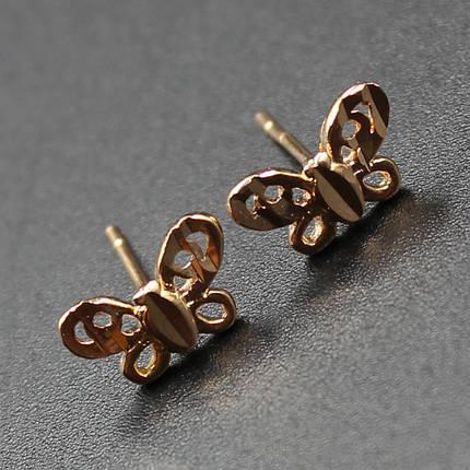 "Серьги женские ""Bifrenaria"" Xuping Jewelry (позолота)., фото 2"