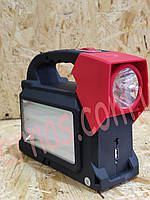 Аккумуляторный фонарь Yajia YJ-1903T(SY)K (2W+24SMD+Solar battery)