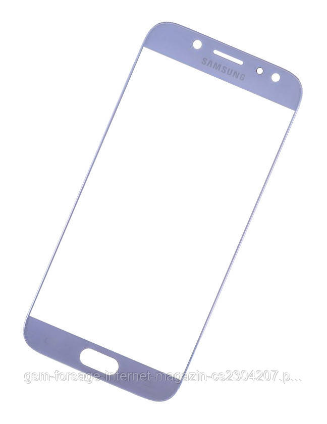 Стекло дисплея Samsung Galaxy J5 (2017) SM-J530F Blue (для переклейки)