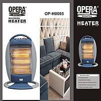 Галогенный напольный инфракрасный обогреватель Opera Digital OP-H0005 1200W  (S00567)
