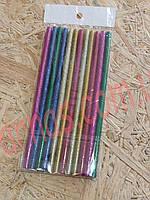 Клей стержневой силиконовый цветной 7мм