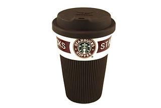 Керамическая чашка Starbuck Eco cup   (S00587)