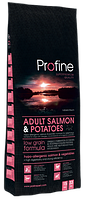 ADULT SALMON POTATOES гипоаллергенный лосось & картофель 15кг