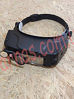 Бинокуляр очки бинокулярные со светодиодной подсветкой MG81007-C