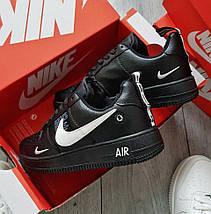 Зимние мужские кроссовки Nike Air Force 1 Low Winter Utility с мехом (2 ЦВЕТА), фото 2