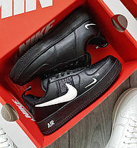 Зимние мужские кроссовки Nike Air Force 1 Low Winter Utility с мехом (2 ЦВЕТА), фото 3