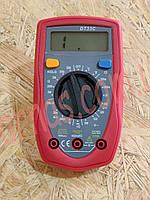 Мультиметр (тестер) DT33C цифровой