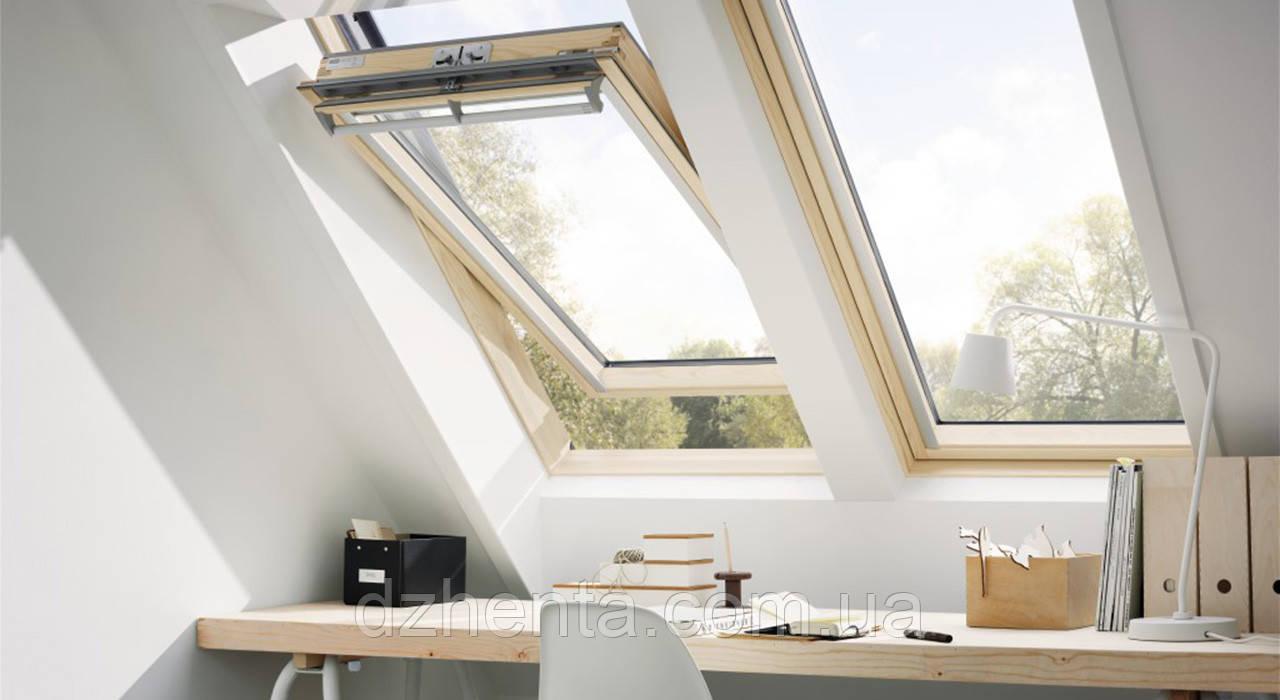 Мансардное окно GZL 1059 М08 78х140 см