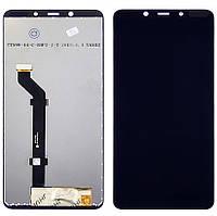 Дисплей для Nokia 3.1 Plus Dual Sim с чёрным тачскрином (модуль, LCD)