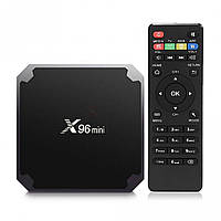 ТВ-приставка TV box X96 mini  4-ядерная на Android 7.1.2  (S00607)