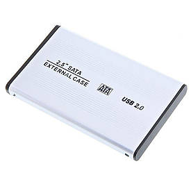 "Карман для жесткого диска  2.5"" SATA HDD Case Hard Disk Drive USB 2.0  (S00608)"