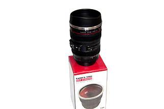 Кружка-термос в виде объектива Camera Lens Self Stirring Coffee Cup  (S00624)