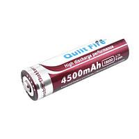 Аккумулятор 18650, Qulit Fire, 4500mAh, коричневый