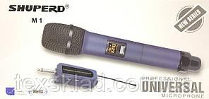 Радиомикрофон беспроводной универсальный портативный SHUPERD M1