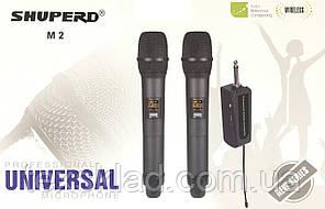 Бездротові мікрофони універсальні портативні SHUPERD M2