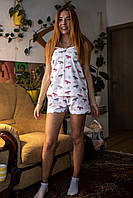 Пижама шорты с топом Летучие Мыши L, фото 1
