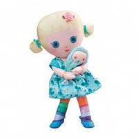 Мягкая игрушка  MOOSHKA - КУКЛА МИШЕЛЬ (24 см, с аксессуарами)
