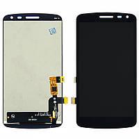 Дисплей для LG K5 X220 Dual Sim с чёрным тачскрином (модуль, LCD)