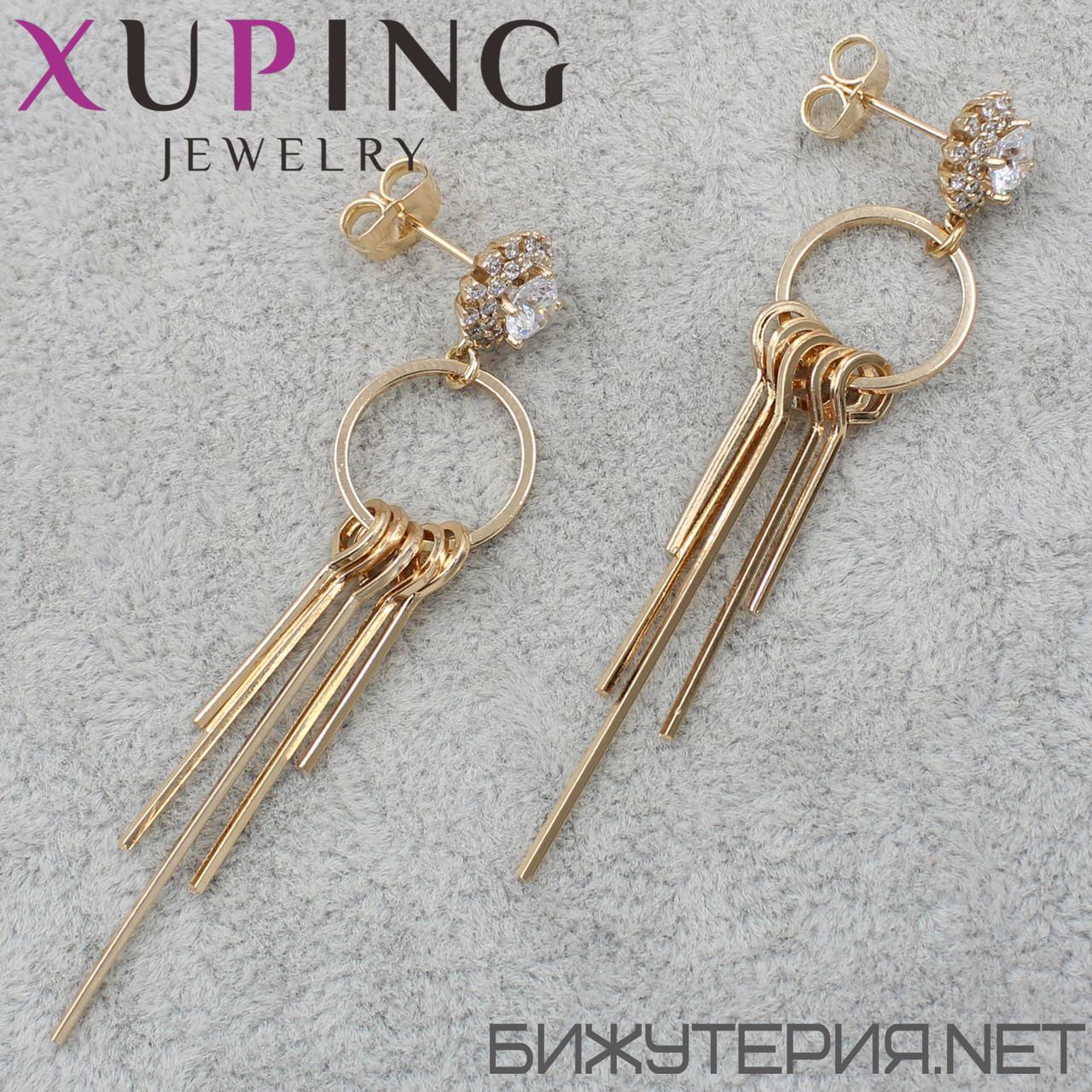 Серьги Xuping медицинское золото 18K Gold - 1033893823