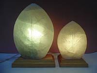 Соляная лампа Листик большой