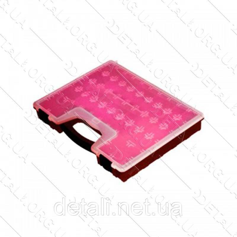 "Органайзер пластиковый, 16,5"", 420x335x62 мм INTERTOOL BX-4009"
