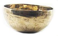 Чаша поющая ручной работы (без резонатора)(13х13х7 см)(495 г.)